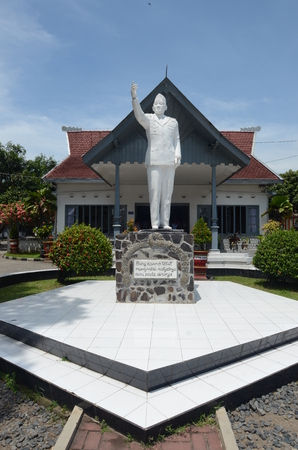 sukarno: Gebang palace, the residence of Sukarno in Blitar, East Java, Indonesia