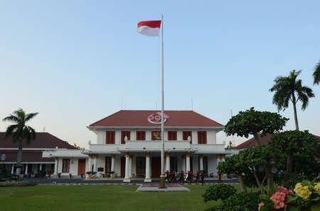 living idyll: Grahadi state building in Jl Pemuda Surabaya, East Java, Indonesia