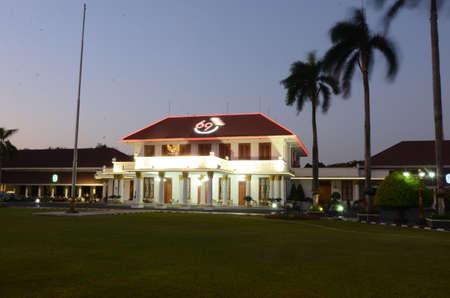 living idyll: Grahadi state building on Jl Pemuda Surabaya, Indonesia