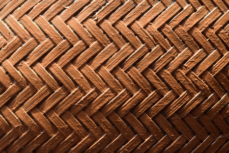 Background of woven bamboo wall, Indonesia
