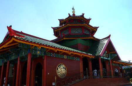Chang Ho Mosque in Surabaya 写真素材