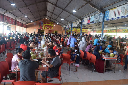 culinary tourism: Culinary tourism in the restaurant Sinjay, Bangkalan, Madura, East Java, Indonesia Editorial