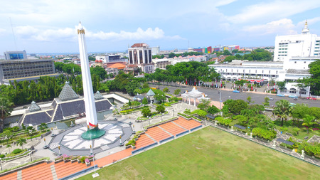 Monument to the Heroes battle of Surabaya, Indonesia