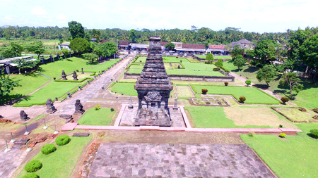 Candi Penataran in Penataran village, Blitar Indonesia, is a relic of Kadiri kingdom on November 26, 2016 Editorial