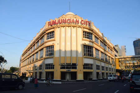 Tunjungan City, one of the old Dutch heritage buildings in the city of Surabaya, East Java, Indonesia on May 9, 2015