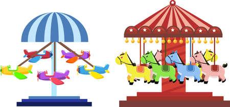 carousel: amusement park