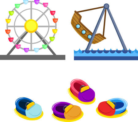 amusement park Stock Vector - 11819485