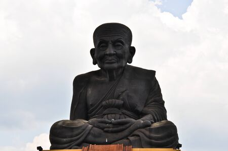 Luang phor tuad statue Stock Photo - 10428001