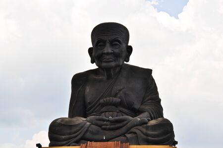 Luang phor tuad statue Stock Photo - 10428001