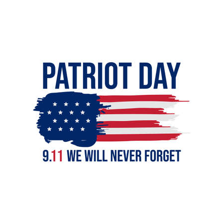 911 patriot day background patriot day september vector image. Never forget 9/11 patriot day