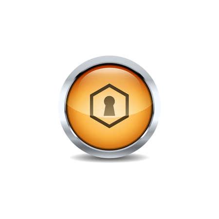3D ui Circle button Icon Set Vector. Shiny circle button style vector icon set design image Reklamní fotografie - 133734790