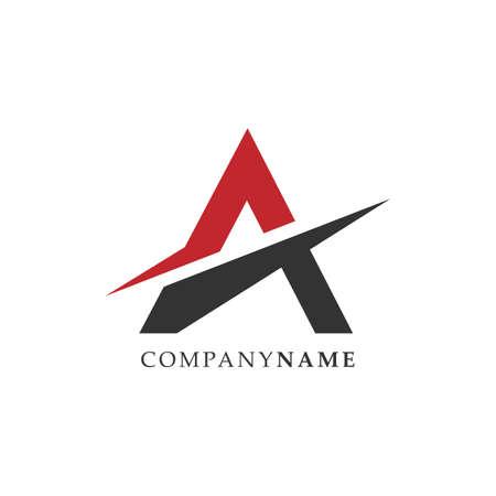 Initial letter A logo vector design template. Letter A symbol lettermark logo illustration design vector