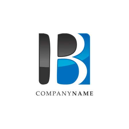 Initial letter B lettermark logo design vector. Business template lettermark logo design image