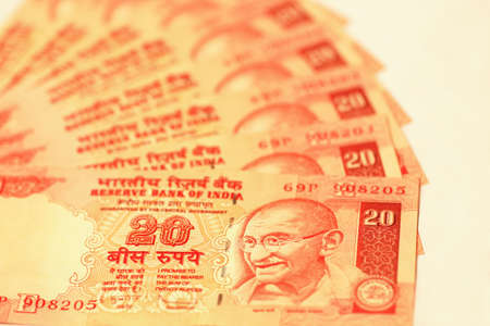 Indian rupee bills photo