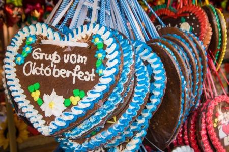 Gingerbread on the Munich Oktoberfest, Munich, Germany