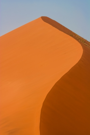 Red sand dune in the Namib desert, Namibia photo