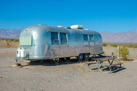 Caravan of Death Valley National Park, California Stock Photo - 14551278