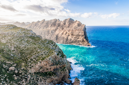 The Cap Formentor in the north east of Majorca