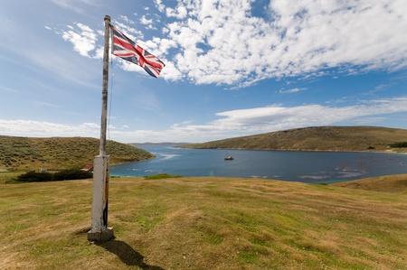 View over West Island Falklands