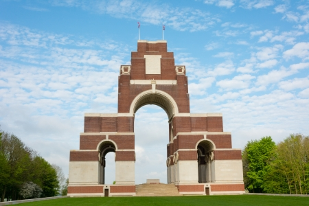 Thiepval Memorial to the First World War soldiers 1914-1918
