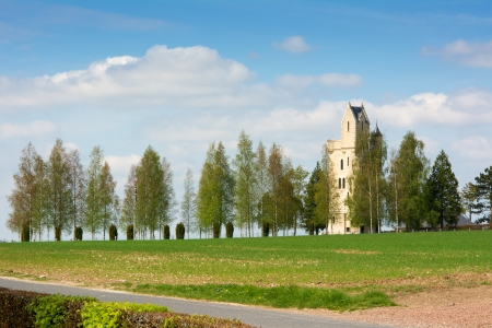 The Ulster Tower the First World War memorial to the 36th Ulster Division