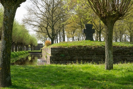 inexperienced: There are more than 44000 German dead buried here. During the First Battle of Ypres 1914 inexperienced German troops many students made an ill fated frontal attack against experienced British and French forces and so suffered huge losses.