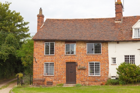 Old cottage in a typical English village