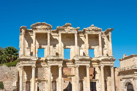 Library at Ephesus, Izmir Turkey Stock Photo