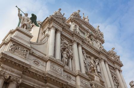 Church of Santa Maria del Giglio, Venice, Italy.
