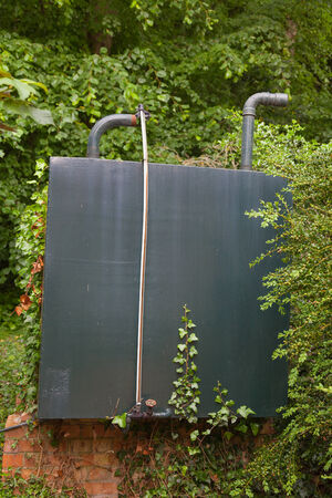 fuel storage: Domestic heating oil storage tank