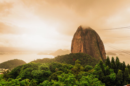 Sugarloaf mountain Rio De Janerio Brazil