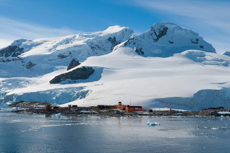 Chilean base Antarctica Banco de Imagens - 27123391