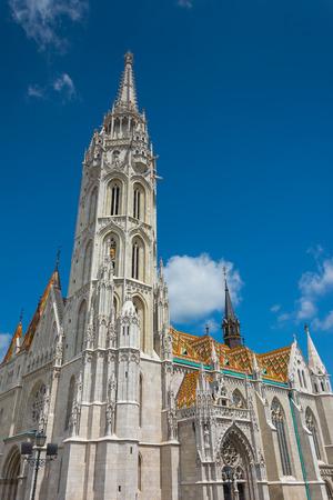 matthias:  Matthias Church at Buda Castle in Budapest, Hungary