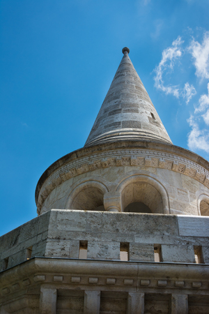 bastion: Fishermans Bastion Budapest Hungary