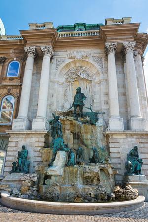 Matthias Fountain At the Castle Budapest photo
