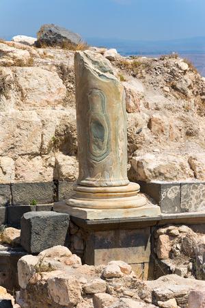 umm: Ancient ruin at Umm Qais in Jordan