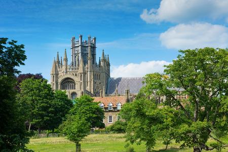 cambridgeshire: Ely cathedral in rural Cambridgeshire England