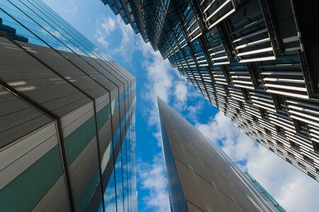 Tall office buildings Banco de Imagens - 67735028