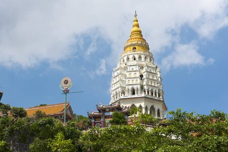 The seven tiered Pagoda of 1000 Buddhas at Kek Lok Si Temple. Penang Island, Penang, Malaysia, South-East Asia, Asia
