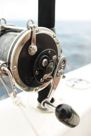 Equipped spinning on the cruising yacht