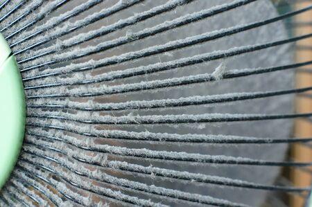 dust on fan Stock fotó