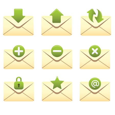 Professional icons for your website, application, or presentation. Stock Vector - 7263403