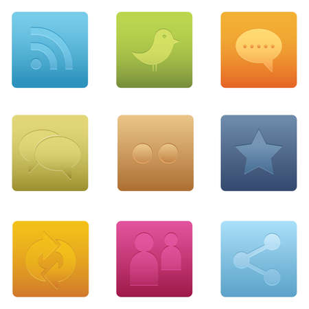 Professional icons for your website, application, or presentation. illustrator and other compatible applications Easy to edit, resize or colorize Bitmap icons: High Resolution JPG image. Stock Vector - 7273177