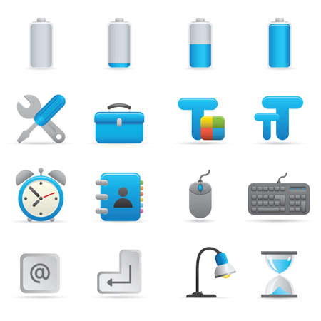 Professional icons for your website, application, or presentation. Stock Vector - 7292976