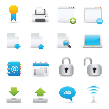 Professional icons for your website, application, or presentation. Illustration