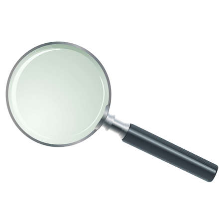 Magnifying Glass | 01 Professional illustration for your website, application, or presentation