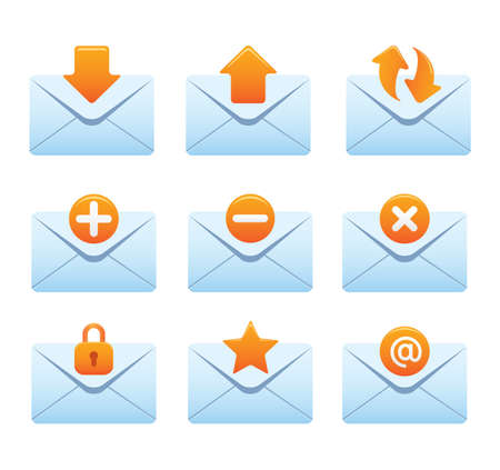 Website & Internet Icons | Envelopes 02
