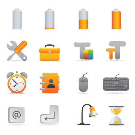 Computer Icons | Yellow 01  Professional set for your website, application, or presentation