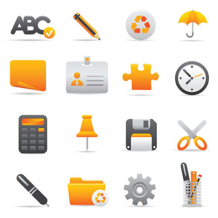 Office Icons | Yellow 09 Professional icons for your website, application, or presentation