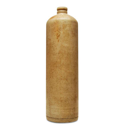 22 Stoneware Bottle Old stoneware bottle for drinking alcohol and other liquids